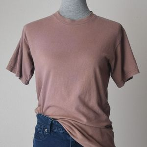 Vintage Army Brown Cotton T-Shirt